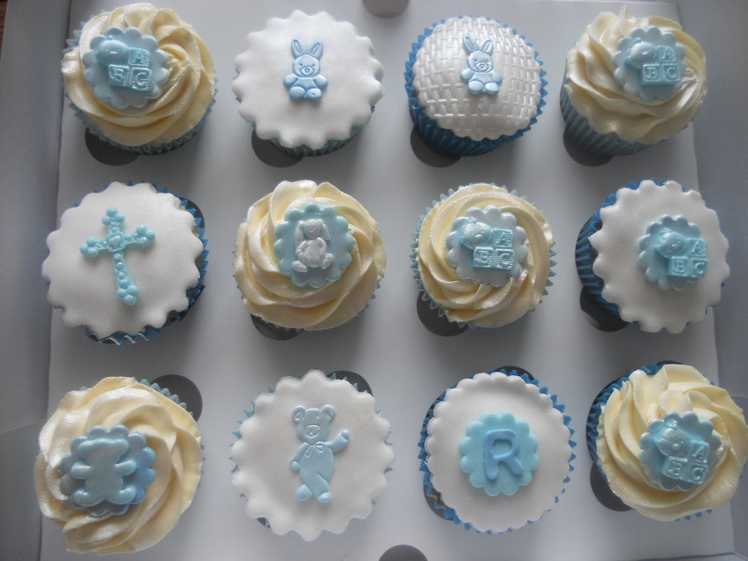 Cupcake Christening Design : Christening Cupcakes And Cake Ideas and Designs