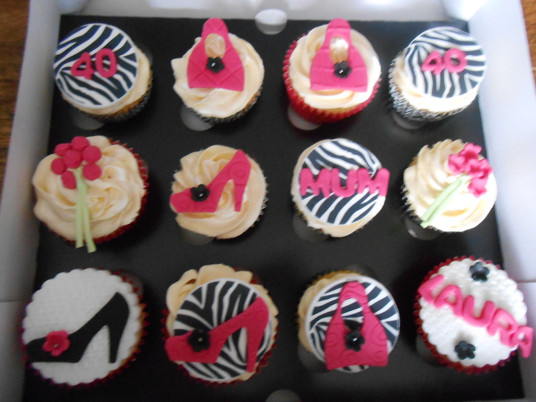 40th Birthday Cupcakes Tracy S T Cakes